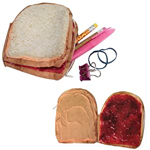 Yummy Pocket Peanut Butter and Jelly Wallet