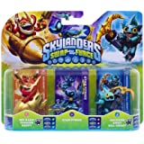 Skylanders Swap Force - Triple Character Pack - Star Strike, Gill Grunt, Trigger Happy (Xbox 360/PS3/Nintendo Wii U/Wii/3DS)