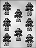 CK Products 3-1/2-Inch Cute Scarecrow Chocolate Mold