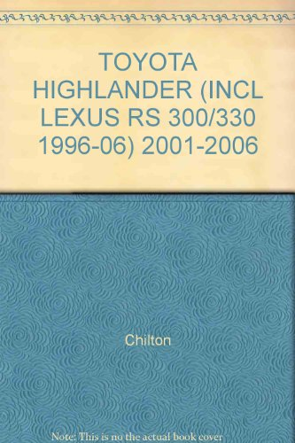 toyota-highlander-incl-lexus-rs-300-330-1996-06-2001-2006