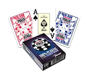 Fournier WSOP Poker Size Jumbo Index Playing Cards (Blue)