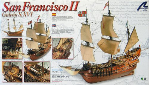 San Francisco II Spanish Galleon Wooden Ship Model Kit by Artesania Latina - Buy San Francisco II Spanish Galleon Wooden Ship Model Kit by Artesania Latina - Purchase San Francisco II Spanish Galleon Wooden Ship Model Kit by Artesania Latina (Warehouse 36, Toys & Games,Categories,Construction Blocks & Models,Construction & Models,Vehicles,Boats)