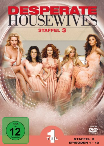 Desperate Housewives - Staffel 3, Teil 1 (3 DVDs)