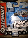 2011 Matchbox Oshkosh Hemtt A4 Snow White Camo Variant with Sky Blue Real Working Parts Packaging