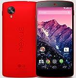 【米国並行輸入品 SIM フリー】Google Nexus 5 2013 (Android 4.4/ 4.95 inch) (32GB, レッド)