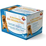 Puppy Training Pads Pack Of 100 Extra Large Size Also For Dogs And Pets|These Are A Heavy Duty Pad|Go And Buy Guarantee Giving|This New Unique Solution Protects Laminated Floor Carpets From Smell|Cheapest Price Discount Coupon Online...