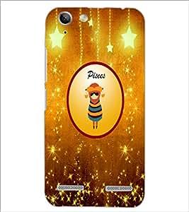 PrintDhaba Zodiac Pisces D-3698 Back Case Cover for LENOVO VIBE K5 PLUS (Multi-Coloured)
