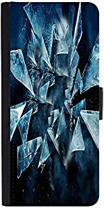 Snoogg Dark Scenes In The Shattered Glass 2618 Designer Protective Phone Flip Case Cover For One Plus X