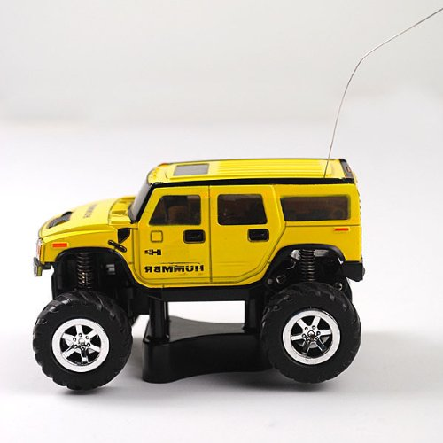 Sprint Pure R/c 1:60 Ratio Mini Racing Car Vehicle (27mhz) Yellow