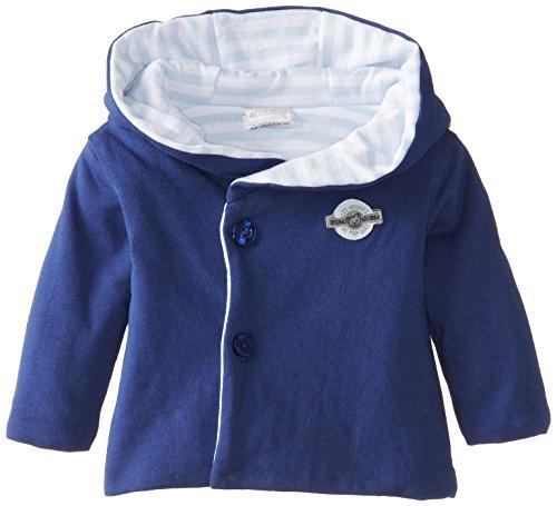 Absorba Babys Newborn B Love Sweater, Blue, 6-9 Months front-1012923
