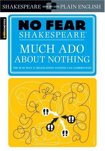 much-ado-about-nothing-no-fear-shakespeare-by-sparknotes-2004-paperback