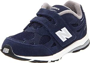 New Balance KV990 Hook and Loop Running Shoe (Infant/Toddler),Navy,9 M US Toddler