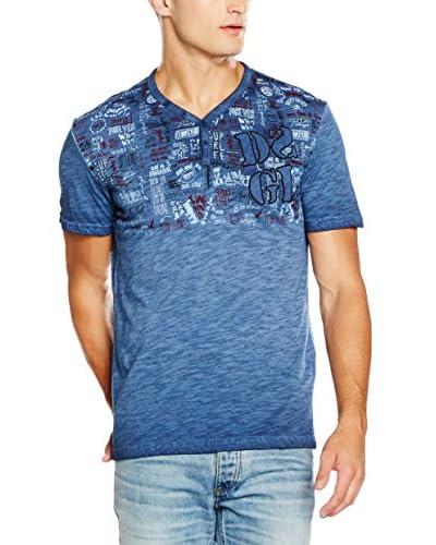 Desigual T-Shirt Alix Rep blau