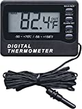 General Tools & Instruments AQ150 In/Out Thermometer with Waterproof Probe