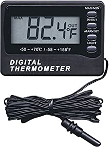 General Tools AQ150 Digital Aquarium Thermometer