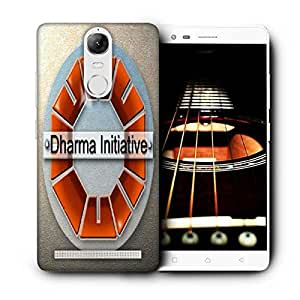 Snoogg Dharma Initiative Printed Protective Phone Back Case Cover For Lenovo K5 Note