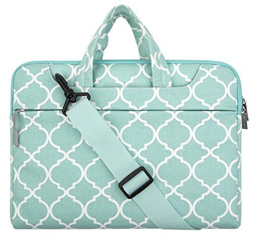 mosiso-laptop-shoulder-bag-briefcase-quatrefoil-moroccan-trellis-canvas-fabric-carrying-case-for-116