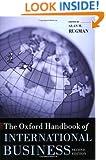 The Oxford Handbook of International Business (Oxford Handbooks)