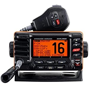 Explorer GX1700B GPS Fixed Mount VHF - Black