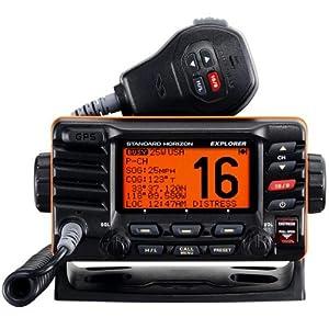 Standard Horizon GX1700B FIXED MOUNT VHF WITH GPS (BLK)
