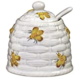 Yellow Bees Honey Pot