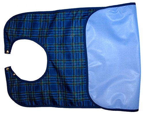 Atlas Comfortable & Adjustable Bib Apron Waterproof Professional Grade 1-Pack - 200+ Wash