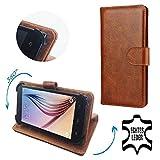 Switel Trophy S4530D - Premium Echtleder Smartphone