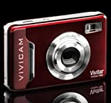Cranberry Vivitar Vivicam 7020 Digital Camera RRP £60
