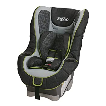 Help keep your growing child secure in this innovative convertible car seat. The American Academy of Pediatrics recommends your child ride rear facing up to 2 years of age, so My Ride 65 keeps your baby rear facing up to 40 pound and forward facing u...
