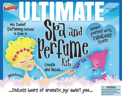 Poof-Slinky - Scientific Explorer Ultimate Spa And Perfume Kit, 0Sa228