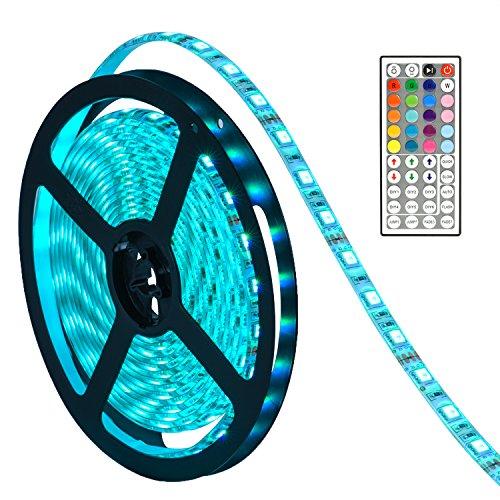 waterproof-led-strip-lights-oak-leaf-smd5050-164ft-rgb-strip-light-with-44-key-ir-remote-control