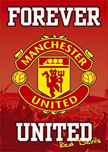 GB eye Ltd, Manchester United, Forever, Maxi Poster, (61x91.5cm) SP0268 by Absolute Footy