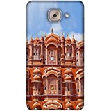 PrintVisa Designer Back Case Cover For Samsung Galaxy On Max (Rajasthan Windows Pink City Love Lovely)