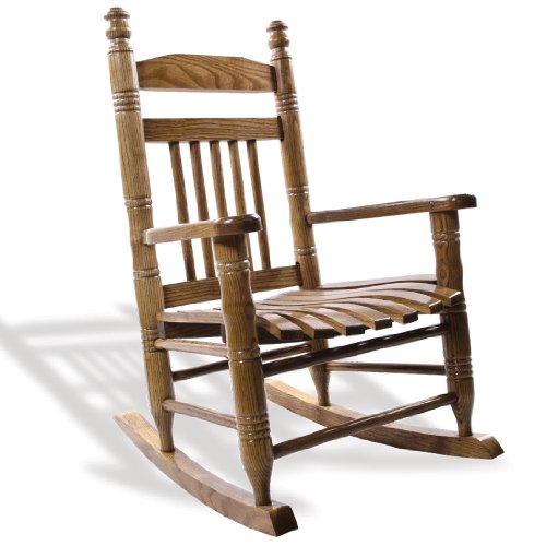 Cracker Barrel Old Country Store Slat Child Rocking Chair - Hardwood ...
