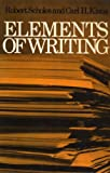 Elements of Writing (0195015355) by Scholes, Robert