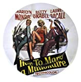 Marilyn Monroe 'How To Marry A Millionaire' Ashtray - White