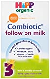 "HiPP Organic 3 ""From 6 Months onwards"" Follow on Milk 800 g (Pack of 4)"