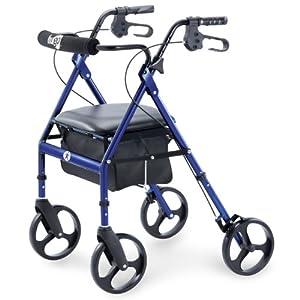 Amazon.com: Hugo Portable Rollator Walker with Seat