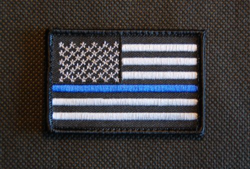 Best Price! Tactical Police law enforcement Thin Blue Line United States Flag velcro Patch