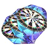 Harrows Hologram Dart Flights Dart Board Set of 3