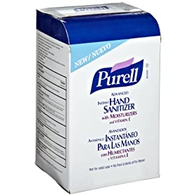 Purell 2156-08 Instant Hand Sanitizer, 1000 mL NXT Refill (Case of 8)