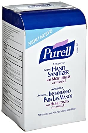 PURELL 2156-08 Instant Hand Sanitizer, 1000 mL, NXT Space Saver Refill, (Case of 8)