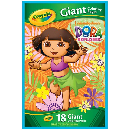 Crayola Dora The Explorer Giant Coloring Pages - 1