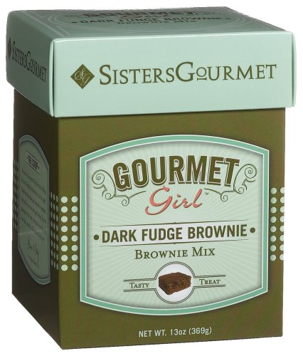 Buy Sisters' Gourmet Inc. GG Dark Fudge Brownie Mix, 11-Ounce Boxes (Pack of 4)