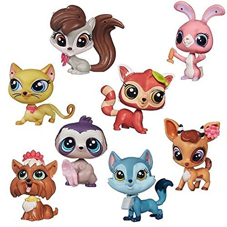 Littlest Pet Shop Pawsabilities Singles Combo Wave 1 Complete Case of 8 Pets 3800 - 3807 by Hasbro