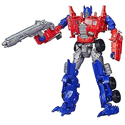 Transformers Age of Extinction Voyager Class Evasion Mode Optimus Prime Figure by Transformers