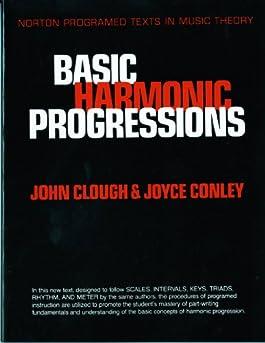 Basic Harmonic Progressions (Norton Programmed Texts in Music Theory)