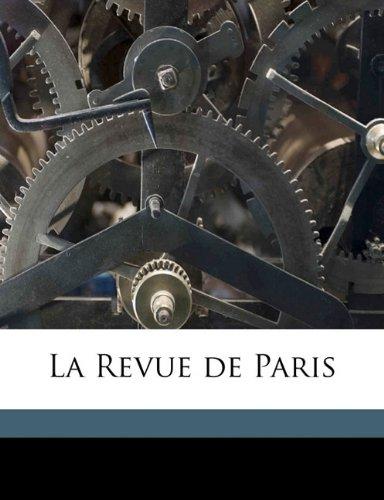 La Revue de Pari, Volume 1898 jul-aug