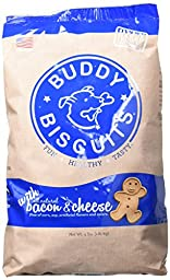 Buddy Biscuits Oven Baked - 4 lb Value Bag in Bacon and Cheese