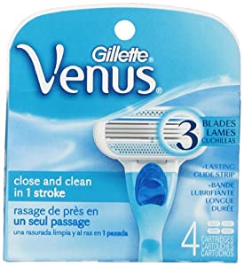 Gillette Venus Original Women's Razor Blade Refills 4 Count